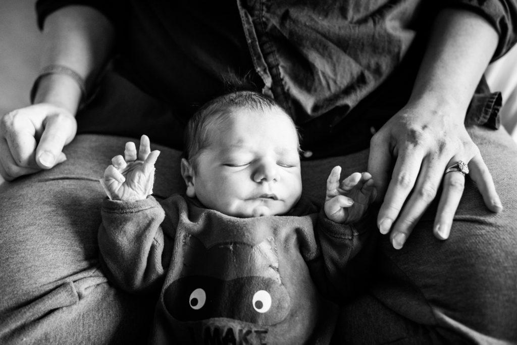 shooting naissance en maternité en région parisienne