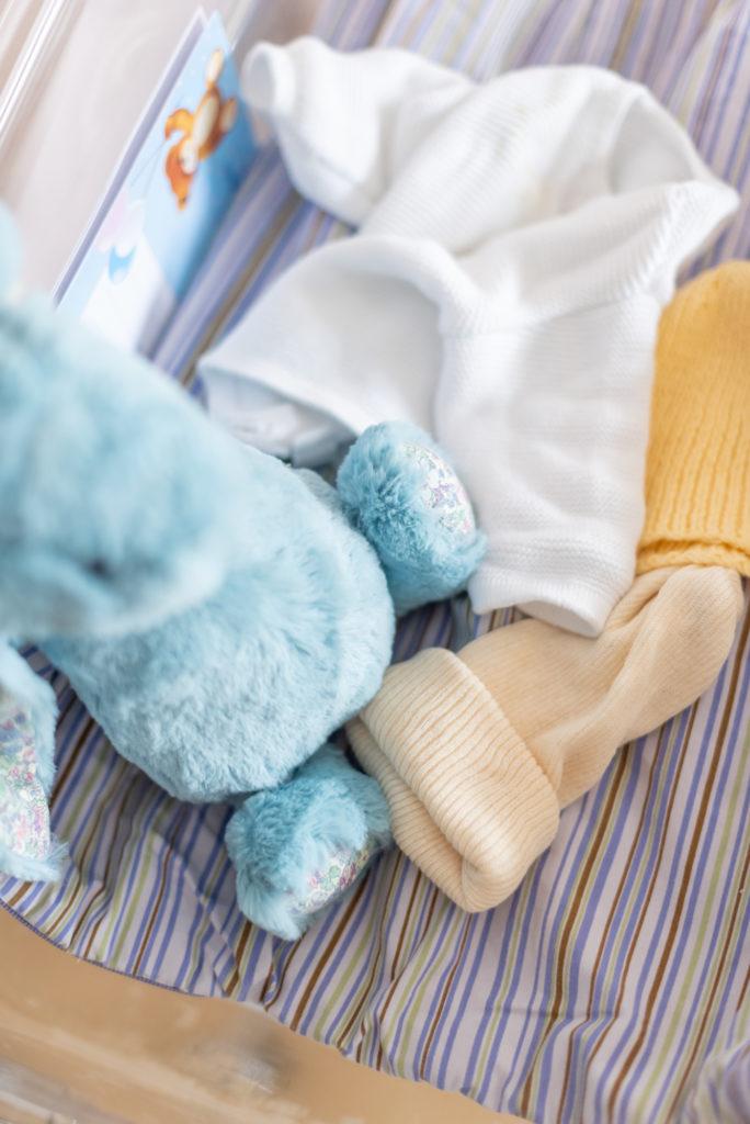 Photos de naissance en maternité Christophe Lefebvre photographe doudous