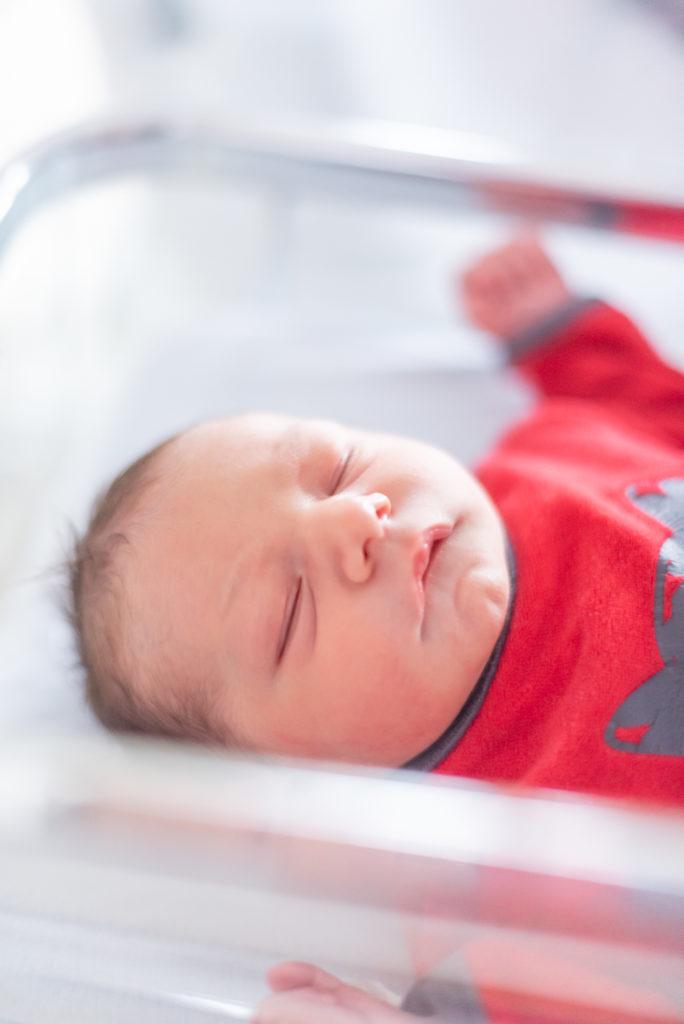 Photos de naissance en maternité Christophe Lefebvre photographe sieste