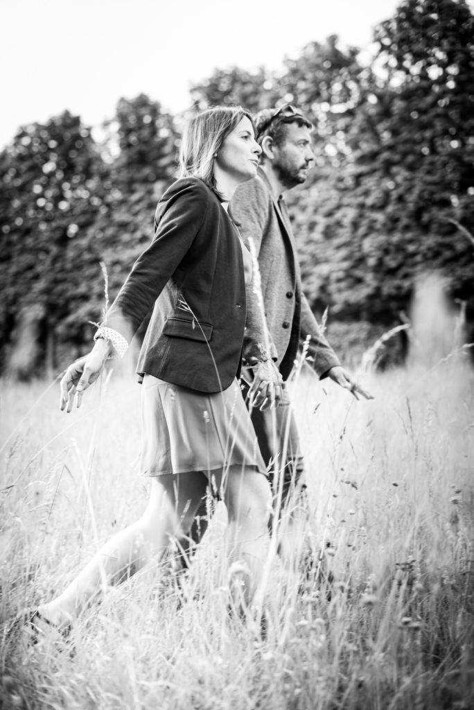 Noir et blanc La séance d'engagement Christophe Lefebvre Photographe Yvelines