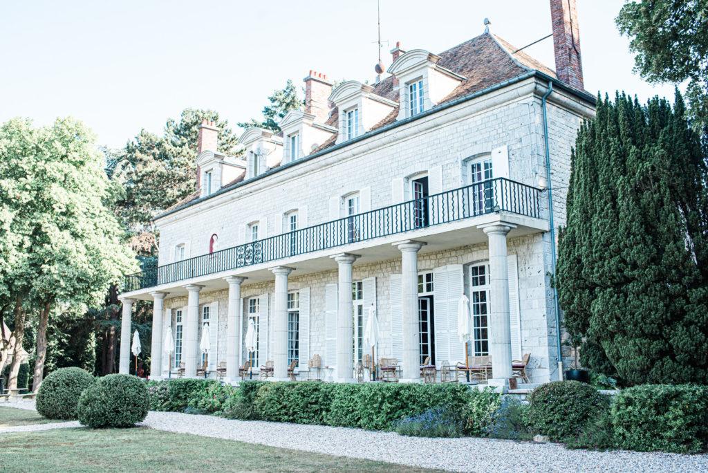 Domaine du Chesney face terrasse Christophe Lefebvre Photographe mariage Eure