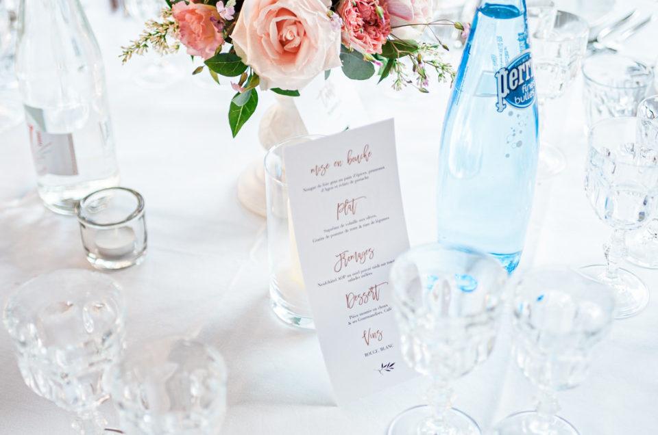 Décoration de table réception au DOmaine du Chesney Christophe Lefebvre Photographe