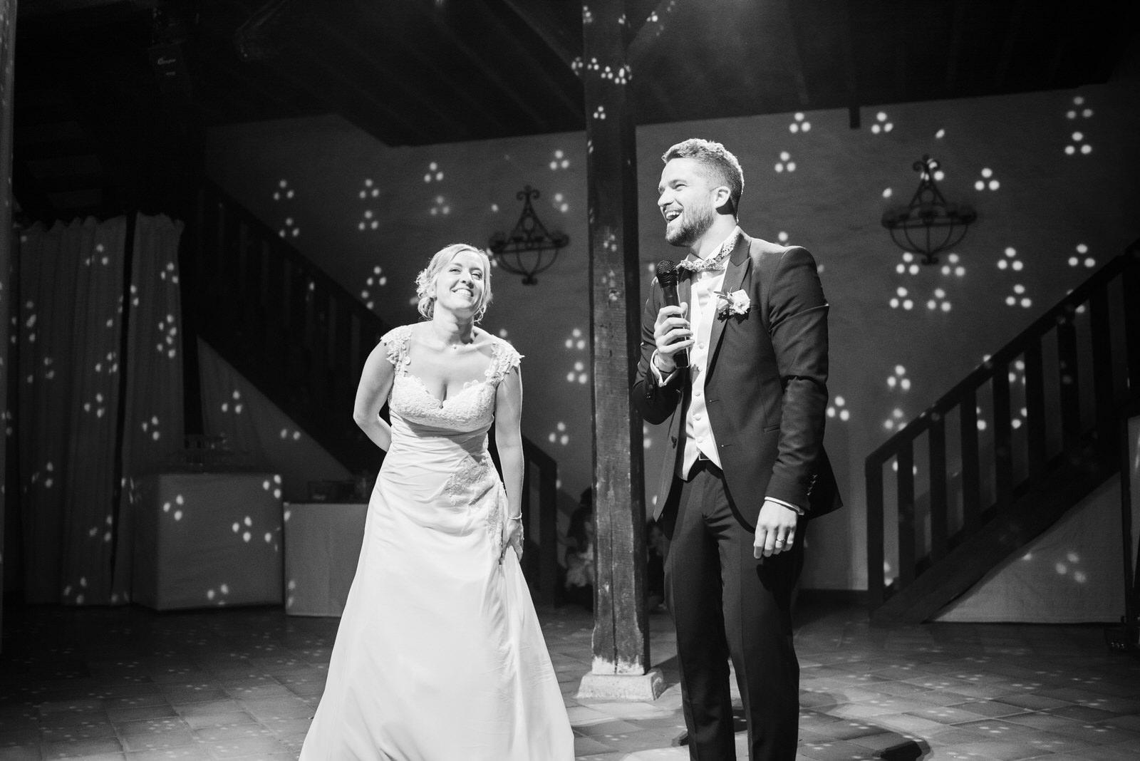 La grange des Aulnaies Photographe de mariage Christophe Lefebvre discours