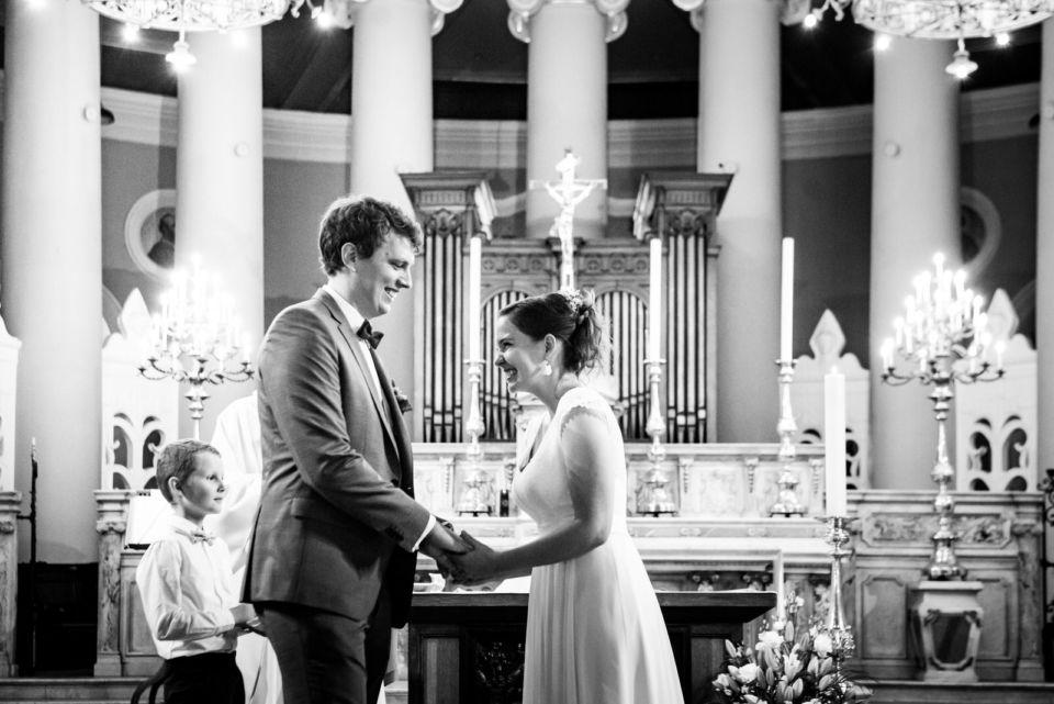 Mariage Christophe Lefebvre Photographe intérieur église Saint-germain-en-laye