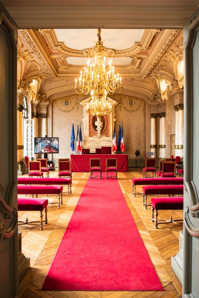 Salle des mariages Mairie de Saint Germain en Laye Christophe Lefebvre Photographe Mariage (3)